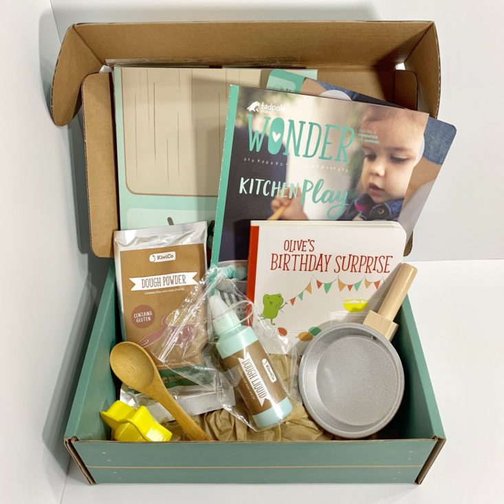 "Tadpole Crate ""Kitchen Play"" Review - All Items Unboxed"