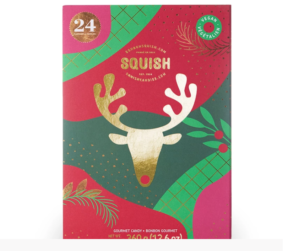 Squish Candy Advent Calendar + Vegan Option – Available Now!